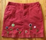 Cvetna mini suknja