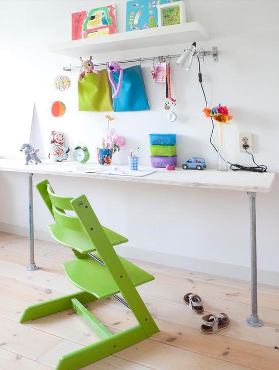 najjednostavniji radni sto za pred kolca kreativna planeta. Black Bedroom Furniture Sets. Home Design Ideas