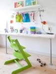 Najjednostavniji radni sto za predškolca