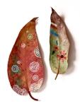 Ulepšajte listove sa malo boje