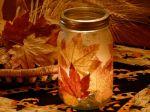Svećnjak sa lišćem