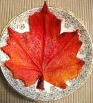 Paper mache jesenji list