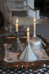 Levak kao svećnjak