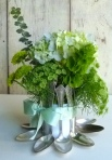 Dekorativna vazica od kašika